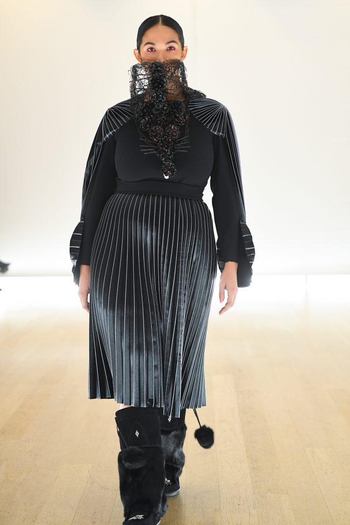 toronto fashion week lesley hampton