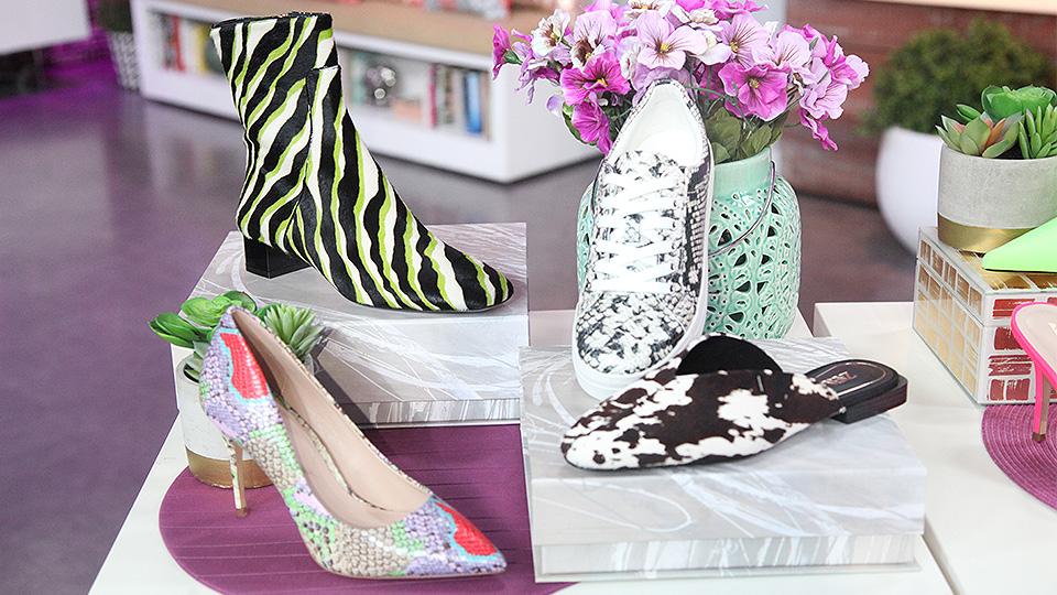 animal print shoe trend