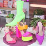 neon shoe trend