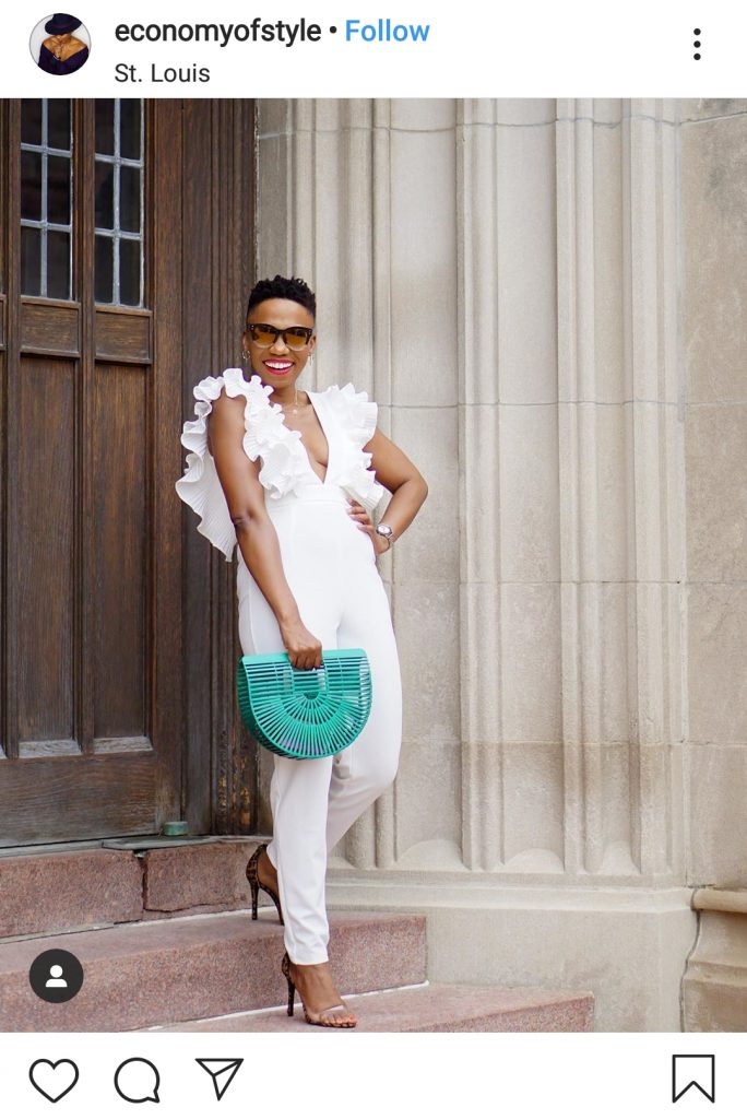 how to style all white outfit